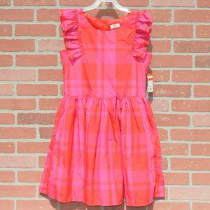 Cat & Jack kids ruffle sleeve dress size xl 14/16